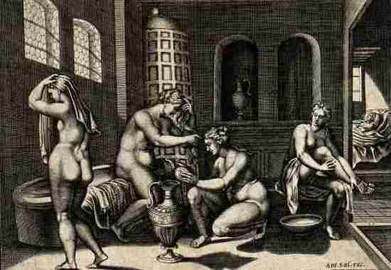 История общественных бань - римские термы