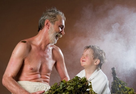 Как закаляться при помощи бани?