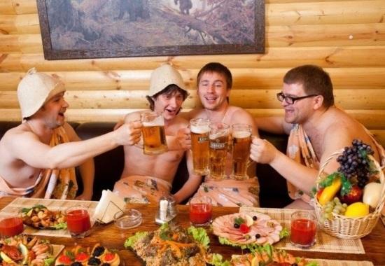 Как организовать праздник в русской бане