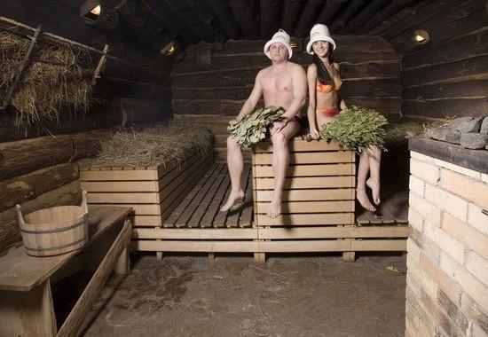 Русская баня на дровах. История русской бани