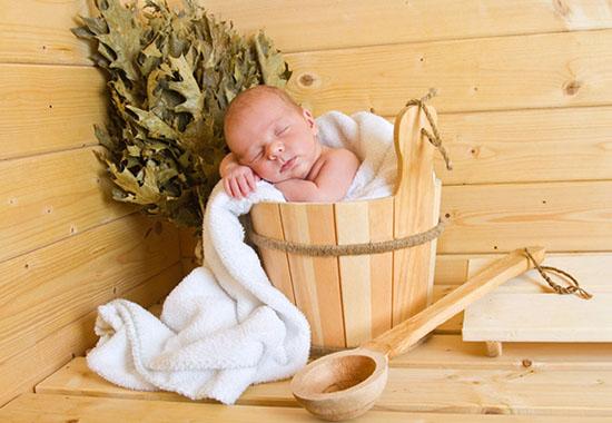 Возраст для посещения бани