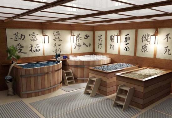 Японские бани: сэнто, фурако и офуро