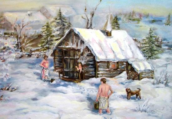 Банные традиции в России