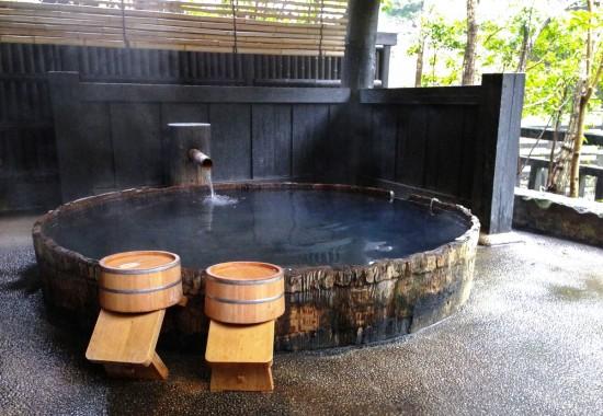 Особенности японской бани