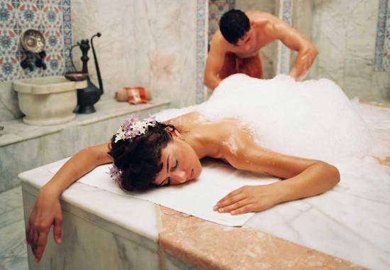 Турецкий пенный массаж