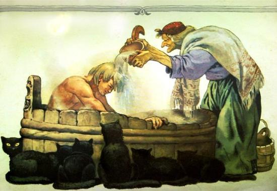 Баня в русских сказках