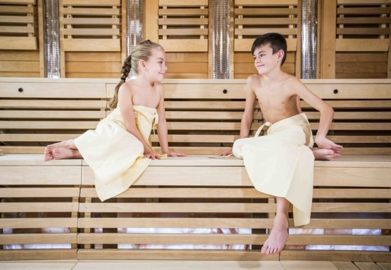 Как подготовить ребенка к посещению бани?
