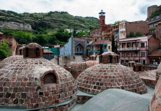 Серные бани: ароматическая визитка Тбилиси