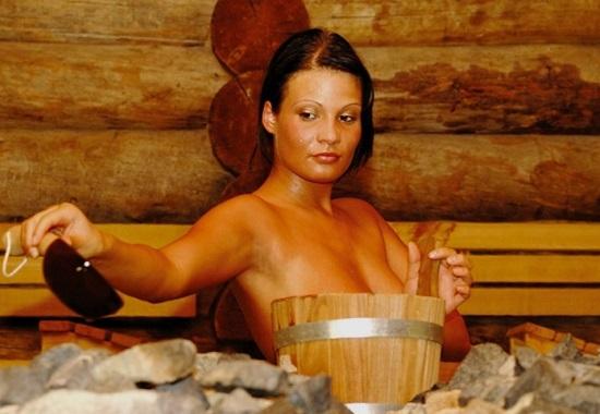 Как вылечить простуду в бане?