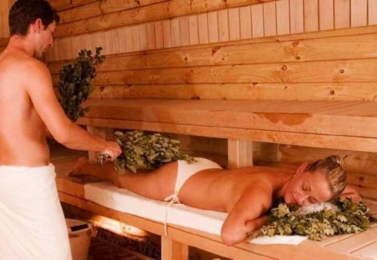 Парная в традиционной русской бане
